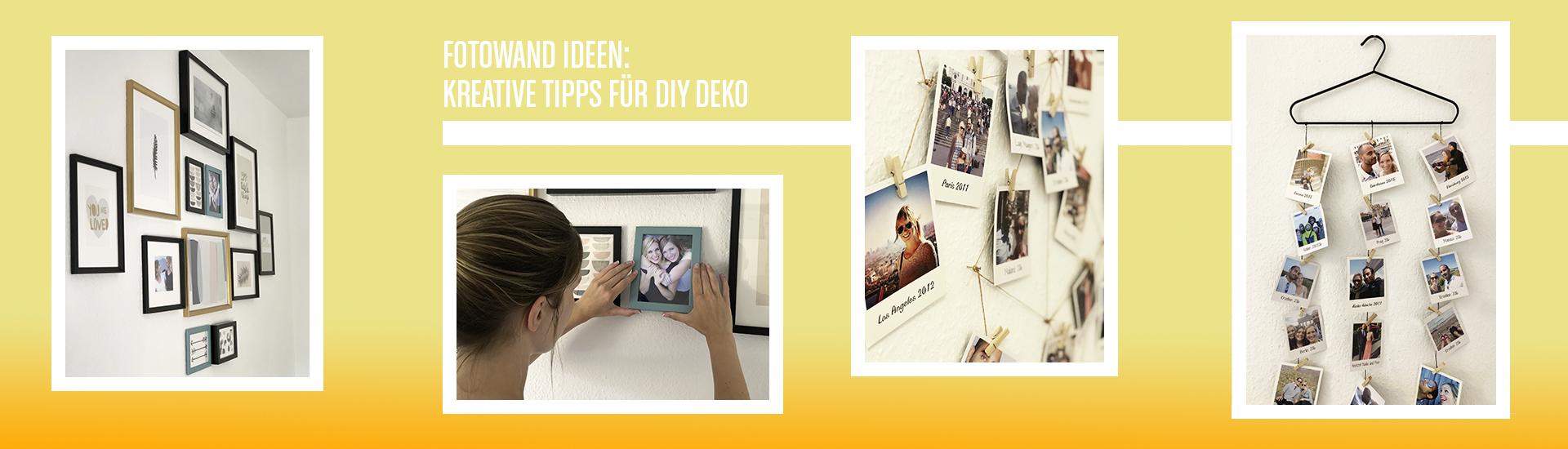 Fotowand Ideen Kreative Diy Deko Studioline Photography